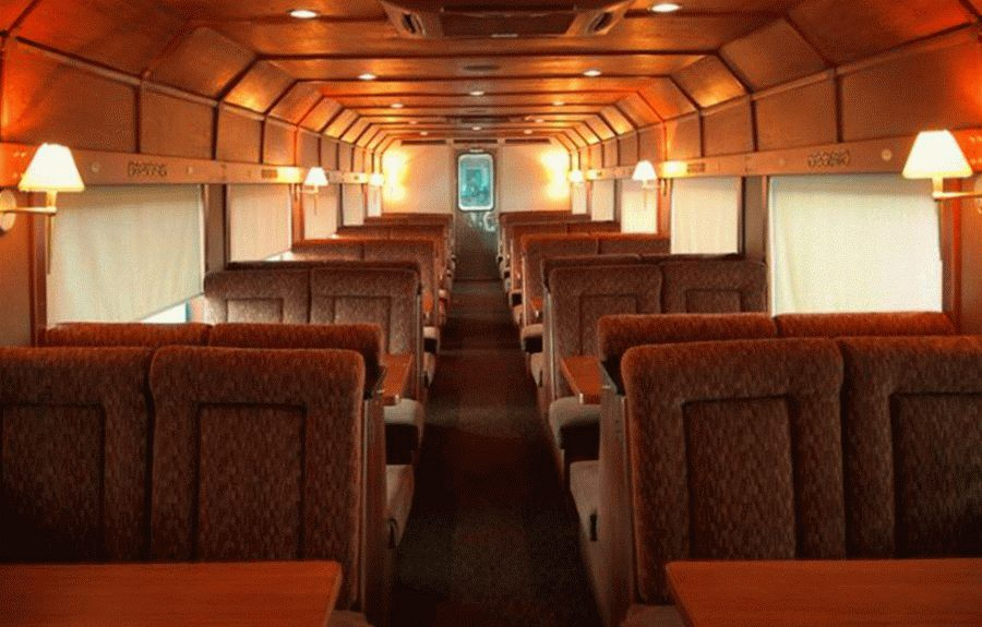 Asientos vagón Premium