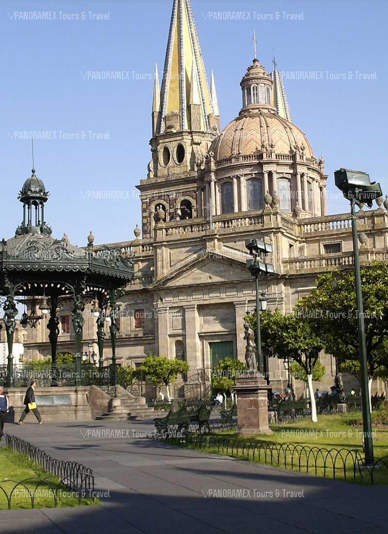 guadalajara centro historico catedral