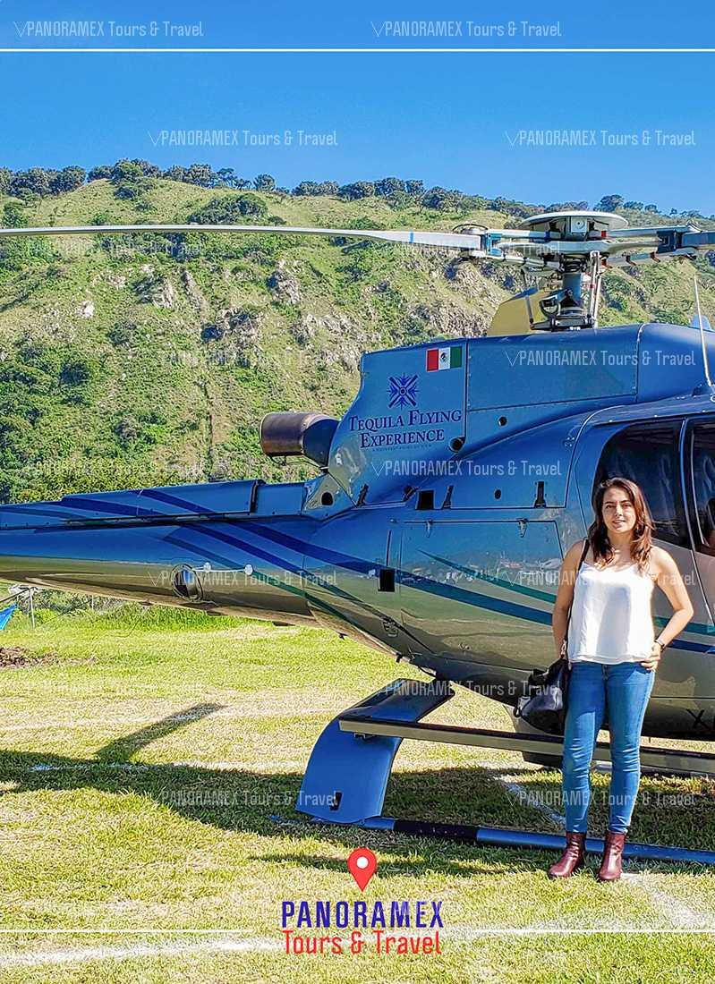 guadalajara paseo en helicoptero