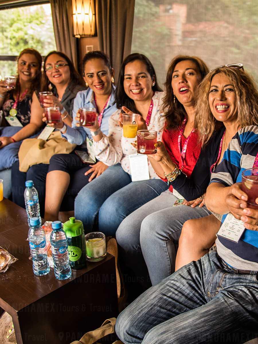 herradura express tren cocteles con tequila herradura